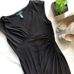 LAUREN Ralph Lauren Black Fitted Dress